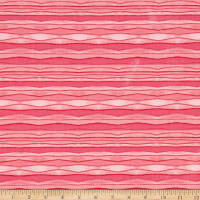 Windham Sunnyside Wavey Stripe  Pink
