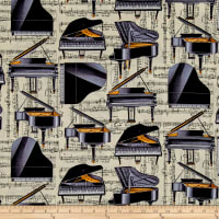 Kanvas The Music In Me Piano Solo Beige