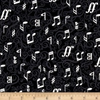 Kanvas The Music In Me 3/4 Time Black/Cream