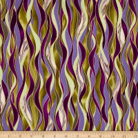 Kanvas Dance Of The Dragonfly Metallic Dancing Waves Olive