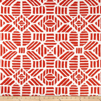 Premier Prints Indoor/Outdoor Ribble Orange
