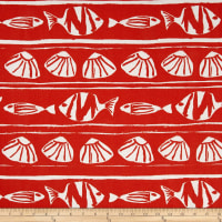 Premier Prints Indoor/Outdoor Caicos Orange