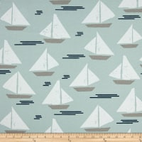 Premier Prints Indoor/Outdoor Cape May Blue Stone