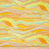 Kaffe Fassett End Papers Yellow