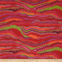 Kaffe Fassett End Papers Red