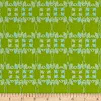 Nel Whatmore Rosealea Flower Braid Green