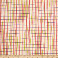 Earth Dancing Plaid Coral