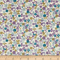 Kaufman Sevenberry Petite Garden Allover Purple