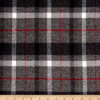 Kaufman Mammoth Flannel Plaids Smoke