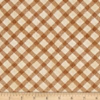 Noah's Story Plaid Tan/Brown