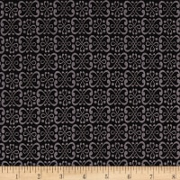 Dogwood Lane Geometric Black