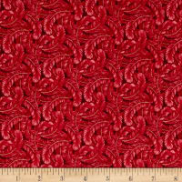 Dogwood Lane Feathers Red