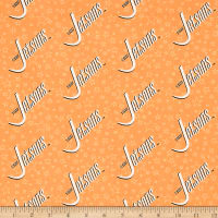 The Jetsons Logo Orange