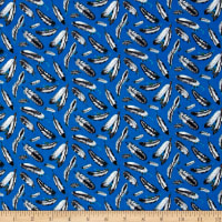 Native Spirit Feathers Blue