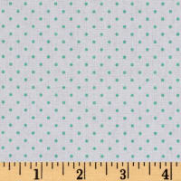 Riley Blake Swiss Dot Mint