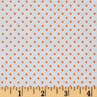 Riley Blake Swiss Dot Orange