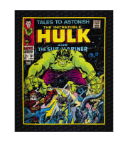 "Marvel Comics The Incredible Hulk Digital 35.5"" Panel Multi"