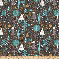 Snowfall Tundra Dark Brown