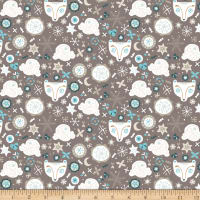 Snowfall Bear Faces Taupe