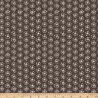 Snowfall Snowflakes Dark Brown