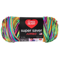 Red Heart Super Saver Jumbo Blacklight