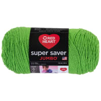 Red Heart Super Saver Jumbo Spring Green
