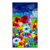 Timeless Treasures Ambrosia Double Border Large Scale Mixed Floral Multi