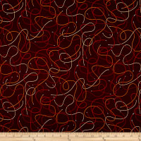 Silver Circuits Metallic Wires Red