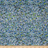 Liberty Fabrics Pointillism Lawn Blue/Green