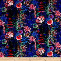 Liberty Fabrics Tresco Lawn Black/Multi