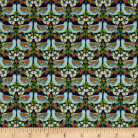 Liberty Fabrics Strawberry Feast Lawn Multi