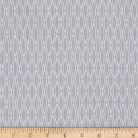 Avalana Jersey Knit Diamonds Grey