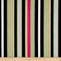 Michael Miller Midday at the Oasis Starboard Stripe Black