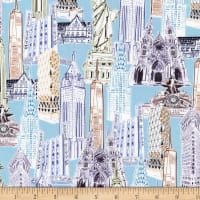 Kaufman Dream Vacation New York City Collage Vintage