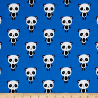 Kaufman Urban Zoology Panda Blue