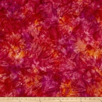 Kaufman Artisan Batiks Patina Handpaints Mottled Hot Pink