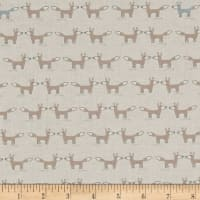 Woodie Winterland Foxes Cream