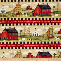 The Way Home Repeating Stripe Multi