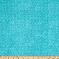 "Essential Criss Cross 60"" Flannel Turquoise"