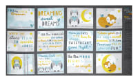 "Wilmington Sweet Dreams Little One Book 25"" Panel Multi"