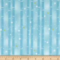 Wilmington Sweet Dreams Little One Birch Tree Stripe Teal