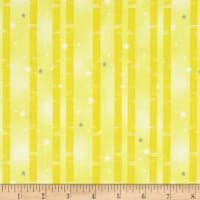 Wilmington Sweet Dreams Little One Birch Tree Stripe Yellow