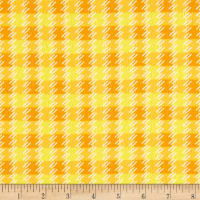Kanvas Zoo Baby Flannel Zoo Plaid Yellow