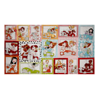 "Loralie Designs Fast Women Parade 23.5"" Panel Multi"
