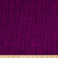 Loralie Designs Ladies Tea Sorta Stripe Purple