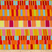 Artisan by Kaffe Fasset Layered Stripe Orange
