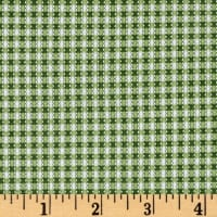 Simply Chic Gingham Green