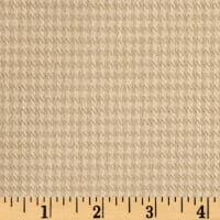 Marcus Primo Plaids Cool & Warm Houndstooth Tan