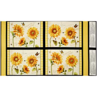 "Follow the Sun Placemat 24.5"" Panel Multi"