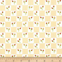 Moda LuLu Lane Flower Patch Buttercup